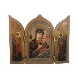 Tríptico Virgen del...