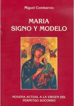María signo y modelo